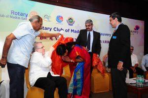 Dr. K.V. Thiruvengadam Award to Dr Gopi Nallaiyan Dr Hemapriya