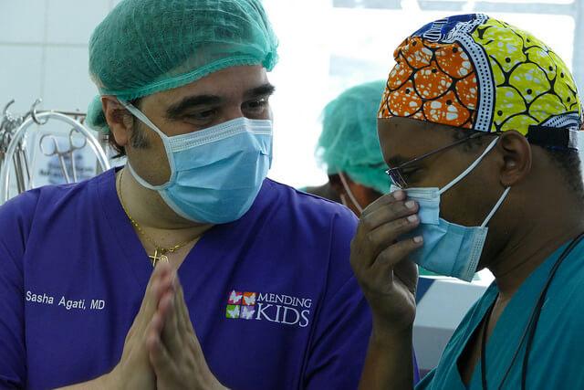 Dr sasha agati Bamabino gesu little moppet heart foundation