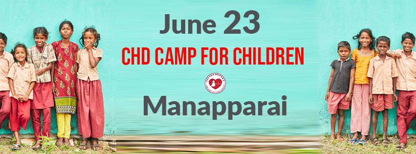 Free CHD camp in Trichy